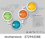 infographic vector design... | Shutterstock .eps vector #372943288