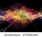 wave visualization series.... | Shutterstock . vector #372960166