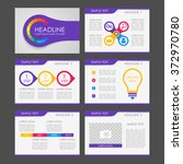 colorful infographic  fluer ...
