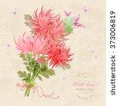 bouquet of beautiful... | Shutterstock .eps vector #373006819