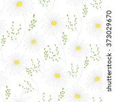 floral seamless pattern with... | Shutterstock .eps vector #373029670