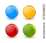 colorful icon or button... | Shutterstock .eps vector #373038823