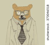 bear worker | Shutterstock . vector #373046518