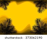 background tropical plants | Shutterstock .eps vector #373062190