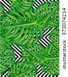 Seamless Pattern Of Leaves...