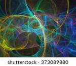abstract fractal background | Shutterstock . vector #373089880