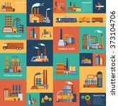 icons set with different types ... | Shutterstock . vector #373104706