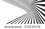 optical effect mobius wave... | Shutterstock .eps vector #373115176