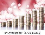 coins on the table | Shutterstock . vector #373116319