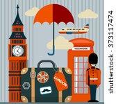 vector flat illustration of... | Shutterstock .eps vector #373117474