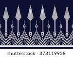 geometric ethnic pattern design ... | Shutterstock .eps vector #373119928