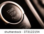 detail on the start button in a ... | Shutterstock . vector #373122154