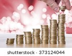 coins on the table | Shutterstock . vector #373124044