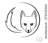 fox icon | Shutterstock .eps vector #373132363