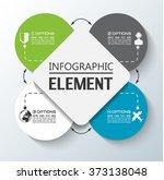 element for infographic chart... | Shutterstock .eps vector #373138048