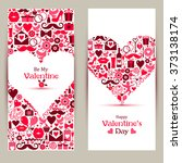 Vector Banners Set Of Valentin...