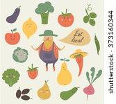 vector illustration of farm...