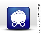 rail wagon icon vector button... | Shutterstock .eps vector #373167559