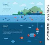 Fishing Banner. Fishing Concept....