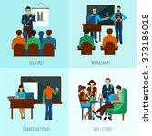 university people set | Shutterstock . vector #373186018