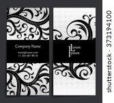 set of vector design templates. ... | Shutterstock .eps vector #373194100
