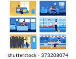 vector illustration for motion... | Shutterstock .eps vector #373208074