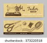website banner or header set.... | Shutterstock .eps vector #373220518