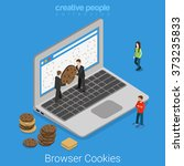 Laptop Browser Cookie...