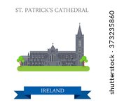 st patrick's cathedral in... | Shutterstock .eps vector #373235860