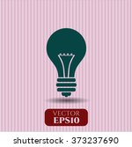 light bulb high quality icon | Shutterstock .eps vector #373237690