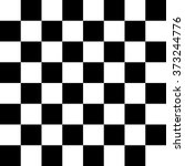 Modern Checkered Pattern Black...