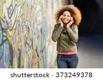 portrait of young attractive... | Shutterstock . vector #373249378