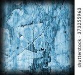 old blue laminated flooring... | Shutterstock . vector #373255963