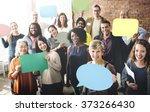 diverse people communication... | Shutterstock . vector #373266430