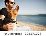 Close Up Portrait Dog Breed...