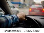 driving a car | Shutterstock . vector #373274209