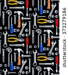 colorful seamless pattern with... | Shutterstock .eps vector #373279186
