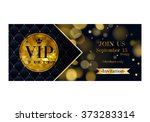 vip party premium invitation... | Shutterstock .eps vector #373283314