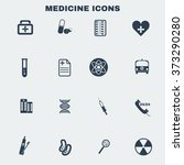 healthcare. black and white...   Shutterstock .eps vector #373290280