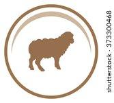 sheep. vector illustration | Shutterstock .eps vector #373300468