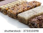 a variety of muesli bars | Shutterstock . vector #373310398