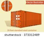 orange 20 foot standard steel...