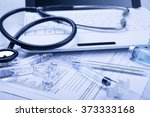 medical devices on the table at