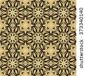 seamless ornamental texture | Shutterstock .eps vector #373340140