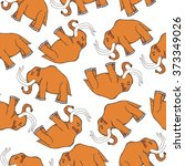 seamless pattern with... | Shutterstock .eps vector #373349026