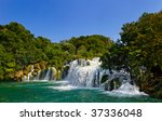 Waterfall Krka In Croatia  ...