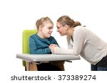disability a special needs... | Shutterstock . vector #373389274