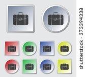 travel bag icon | Shutterstock .eps vector #373394338