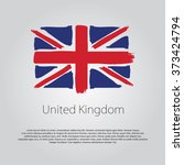 United Kingdom Flag With...