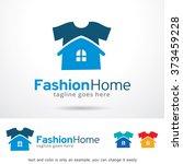 fashion home logo design... | Shutterstock .eps vector #373459228